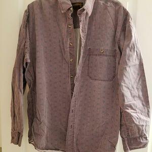 Vintage Eddie Bauer Patterned long sleeve shirt LT